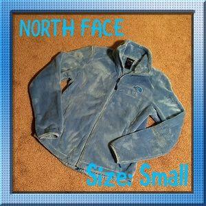 NORTH FACE 💎 OSITO 2 FLEECE JACKET BLUE/SMALL